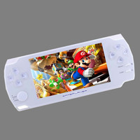 4.3 Inch Ultra-Thin 8G Built In Memory Video Game Console MP5 Music Player With 1000games