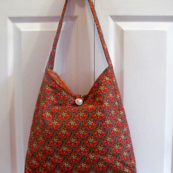 Bright Summer Floral Purse