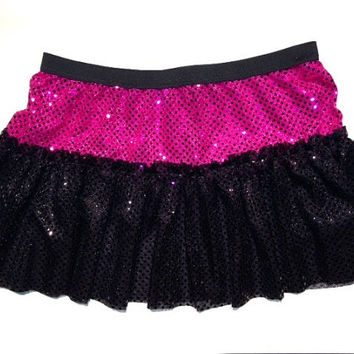 Create your own sparkle running skirt