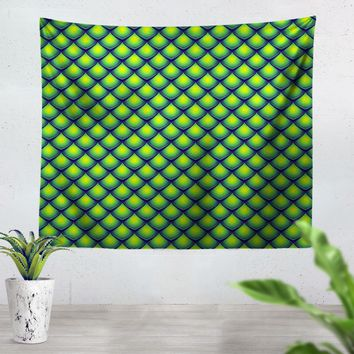 Dragon Scales Tapestry