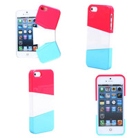 diy Three color mix case for iphone 4/4s