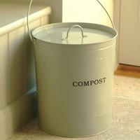 Clay Compost Bucket - Accessories - Kitchen
