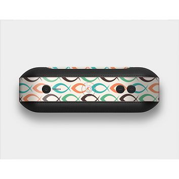 The Vintage Colored Vector Fish Icons Skin Set for the Beats Pill Plus