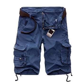 Men Camouflage Casual Loose Short Pants