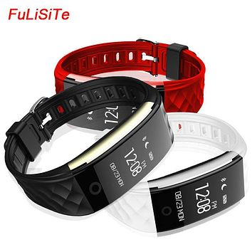 S2 Smart Bracelet Wristband Heart Rate IP67 Waterproof Silica Gel Fashion fit bit watches For Iphone and Android Smartphone
