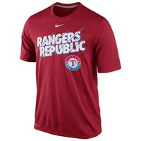 Nike Texas Rangers Speed Legend Local Dri-FIT Performance Tee