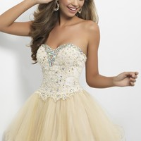 Homecoming dresses by Blush Prom Homecoming Style 9652