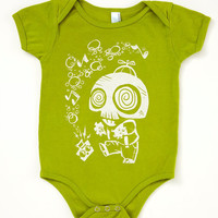 SALE Boom Box Zombie Baby Bodysuit 1218 or 1824 by Crowsmack