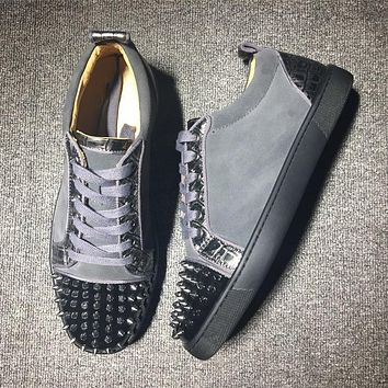 Cl Christian Louboutin Low Style #2007 Sneakers Fashion Shoes - Best Deal Online