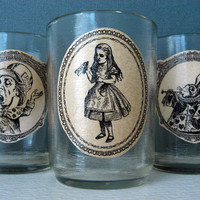 Alice in Wonderland - Candle - Mad Hatter - Tea Party - White Rabbit - Candle Votives