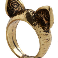 ModCloth Critters Ear the Call of the Wild Ring