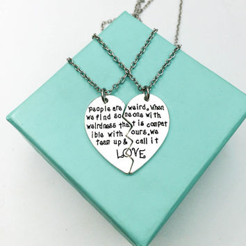 pin partner amazing necklaces right necklace your now couple you wear should and
