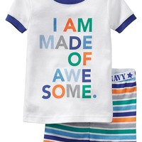 "Old Navy ""Made Of Awesome"" PJ Sets For Baby"