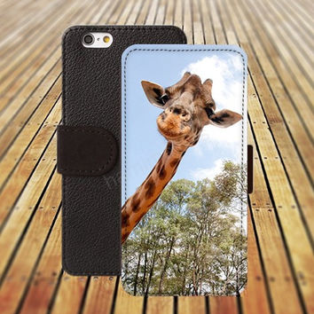 iphone 5 5s case Steal the giraffe iphone 4/ 4s iPhone 6 6 Plus iphone 5C Wallet Case,iPhone 5 Case,Cover,Cases colorful pattern L138