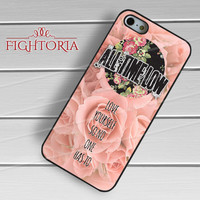 All Time Low Love Yourself Quote -3 for iPhone 4/4S/5/5S/5C/6/6+,samsung S3/S4/S5/S6 Regular/S6 Edge,samsung note 3/4