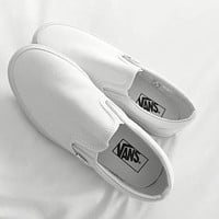 Black/White Classic Canvas Leisure Shoes