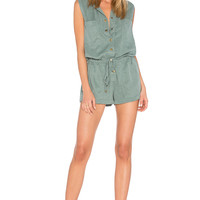 YFB CLOTHING Erwin Romper in Vintage Teal | REVOLVE