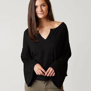 FREE PEOPLE DAHLIA THERMAL TOP