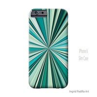 Blue iPhone 6 Case, iPhone 5S Case, Funky, Abstract, Art, iPhone 5, men, by Ingrid, iPhone 5c case, iPhone 6 Plus case