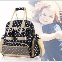 New Fashion Baby Diaper Backpack Shoulders Baby Maternity Mother Bag Baby Diaper Nappy Changing Bag Stroller Bag Multifunctional