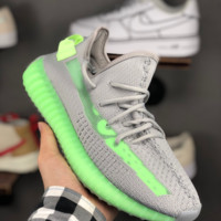 HCXX A1309 Adidas Yeezy 3.0 Boost 350V2 true from Hollow Running Shoes Gray