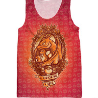 I Choose Fire Tank Top Charmander Pokemon Tank Top