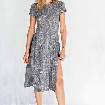Silence + Noise Side-Slit Maxi Tee - Urban Outfitters