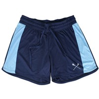 Navy and Light Blue Womens Lacrosse Shorts