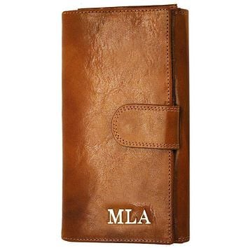 Personalize Roma Continental Wallet