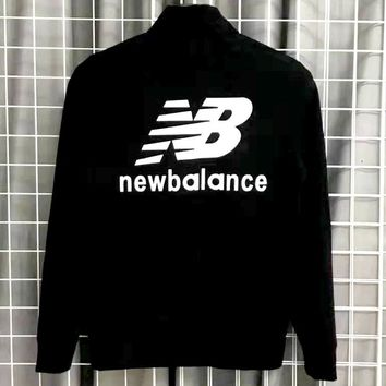 New Balance 2019 new men's and women's sports and leisure woven jacket jacket
