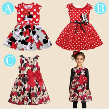 Choice of Girls Minnie Mouse Dresses