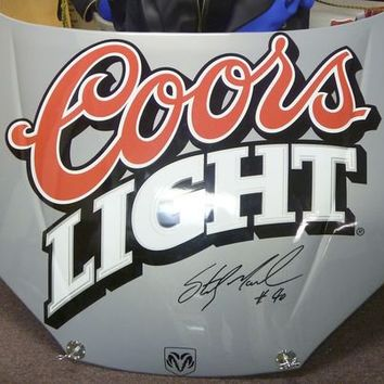 Signed Sterling Marlin Coors Light 40 From Walkinauction