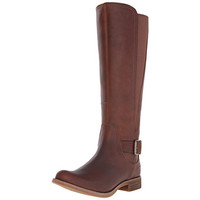 Timberland Womens Savin Hill Leather Knee-High Riding Boots