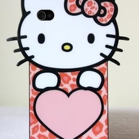 Premium Hello Kitty Cover For Iphone 4 & 4S