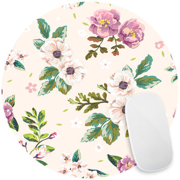 Floral Scent Mouse Pad Decal