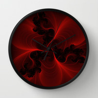 Flash Point Wall Clock by Eric Rasmussen