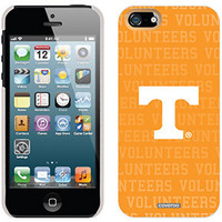 """University of Tennessee Volunteers Full"" Tennessee design on iPhone 5 Thinshield Snap-On Case by Coveroo in White"