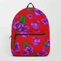 Peony Backpacks by Fifikoussout
