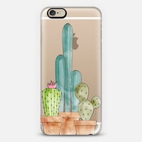 Cactus iPhone 6 case by Emanuela Carratoni | Casetify