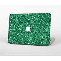 The Green Glitter Print Skin Set for the Apple MacBook Pro 13""