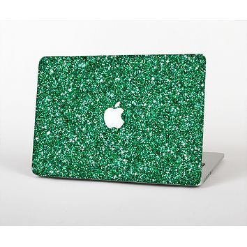 The Green Glitter Print Skin for the Apple MacBook Air 13""