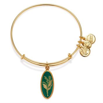 Purity Of The Heart Lily Of The Valley Charm Bangle