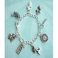 Tropical Vacation Charm Bracelet