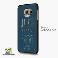 Peter Pan Quotes 2 Samsung Galaxy S6 /S6 Edge Case by Avallen