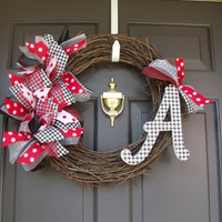 Alabama Grapvine Wreath