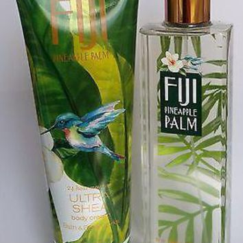 Bath & Body Works FUJI PINEAPPLE PALM  Body Cream / Mist 8 oz