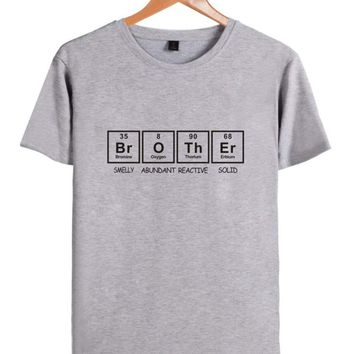 Brother Periodic Table Funny T-shirt