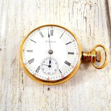 Antique Womens Pocket Watch by Elgin from 1911