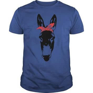 Bandana Donkey shirt Premium Fitted Guys Tee