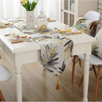 American countryside  simple Table Runner Table Cloth restaurant Cafe Home Decoration cover 4 sizes 4 colours free ship
